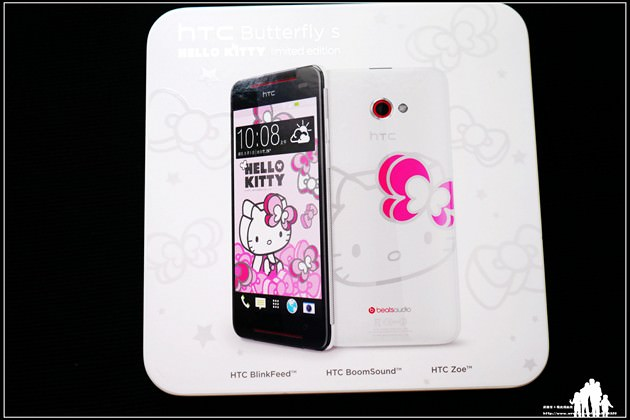 敗家3C【HTC Butterfly S】超可愛的Hello Kitty限定版~