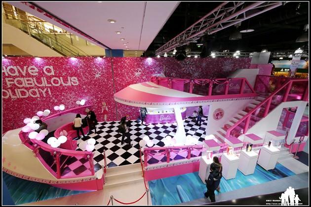 台茂購物中心B2【Barbie CRUISE PARTY】夢幻芭比遊輪大型裝置藝術~
