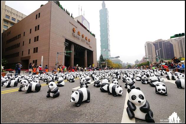 台北-市民廣場【1600貓熊世界之旅】2/28~3/09大型戶外展覽~