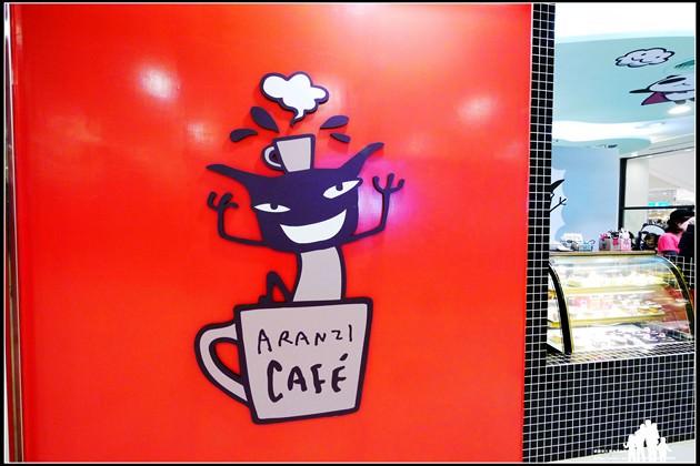 台茂-4F【Aranzi cafe阿朗基咖啡】完全萌萌噠~