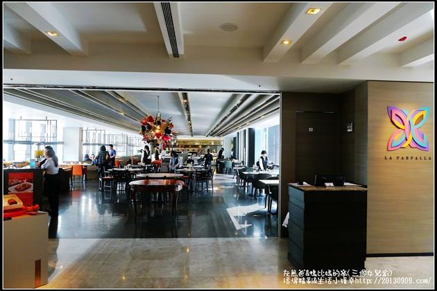 台北-信義區【寒舍艾麗酒店6F-La Farfalla義式餐廳 】帝王蟹腳吃到飽buffet~