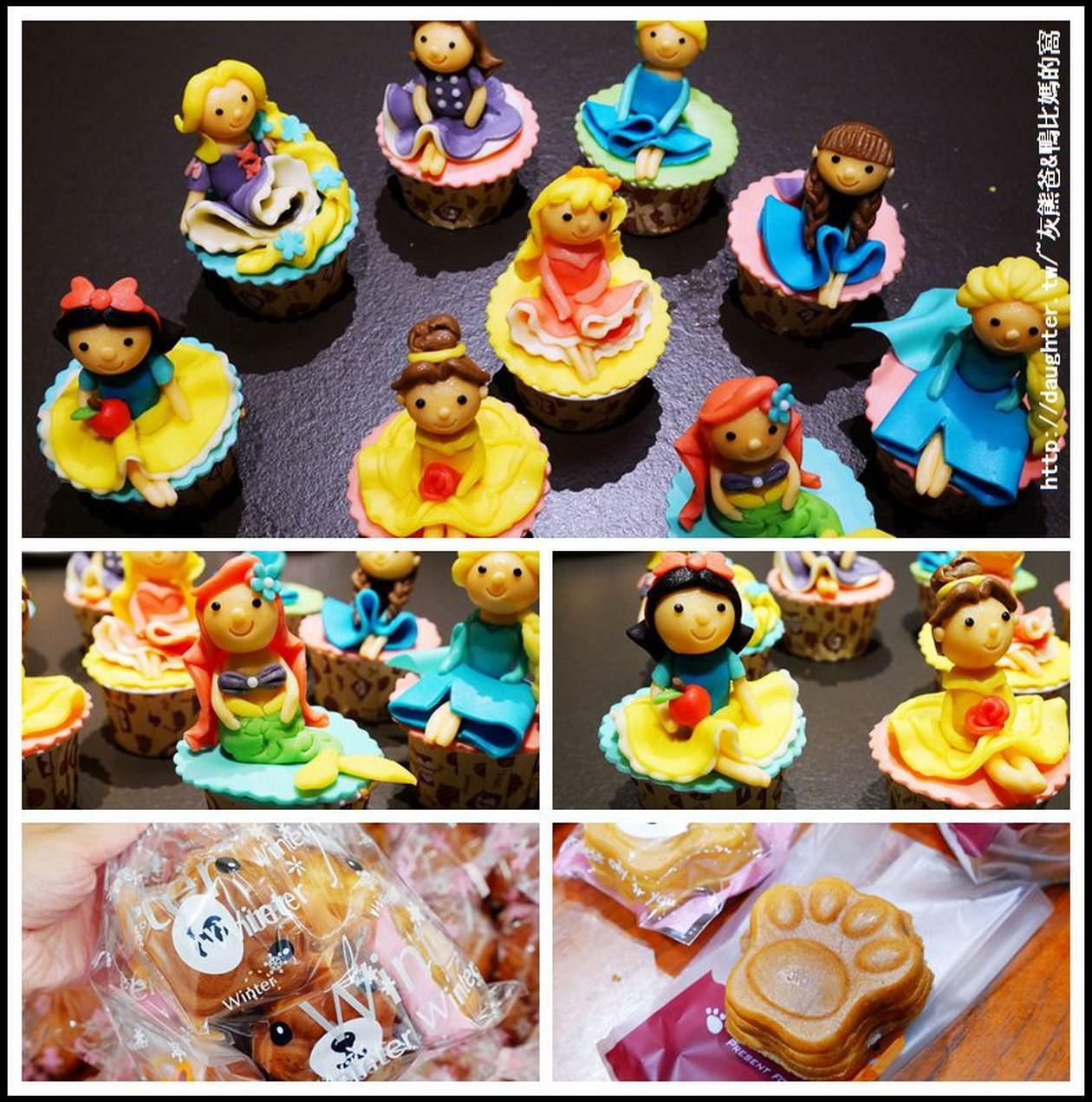 生日蛋糕│小物【小啾媽麻造型蛋糕與幸福甜點】可愛小禮物│萌萌噠熊掌燒